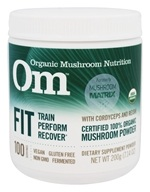 Om - Fit Organic Mushroom Powder - 7.14 oz. Formerly Mushroom Matrix