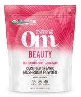 Om - Beauty Organic Mushroom Powder - 7.14 oz. Formerly Mushroom Matrix
