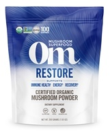 Om - Restore Organic Mushroom Powder - 7.14 oz. Formerly Mushroom Matrix Critical Care