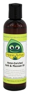 Hippie Butter - Hemp Enriched Bath & Massage Oil - 4 oz.