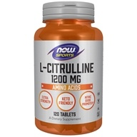NOW Foods - L-Citrulline Extra Strength 1200 mg. - 120 Tablets
