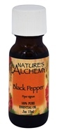 Nature's Alchemy - 100% Pure Essential Oil Black Pepper - 0.5 oz.