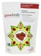 Powbab - Superfruit Chews Pomegranate Acai Berry - 30 Chews