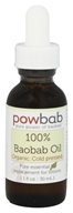 Powbab - 100% Baobab Oil Cold Pressed - 1 oz.