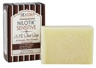 Shea Terra Organics - NiloTik' Sensitive Shea Soap Unscented - 4 oz.
