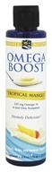 Nordic Naturals - Omega Boost Tropical Mango 525 mg. - 6 oz.