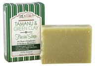 Shea Terra Organics - Facial Soap Tamanu & Green Clay - 4 oz.