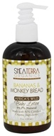 Shea Terra Organics - Bananas & Monkey Bread Baby Lotion - 8 oz.