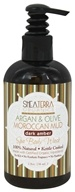 Shea Terra Organics - Argan & Olive Morrocan Mud Spa Body Wash Dark Amber - 8 oz.