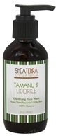 Shea Terra Organics - Clarifying Face Wash Tamanu & Licorice - 4 oz.