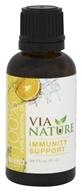Via Nature - Immunity Support 100% Pure Essential Oil Blend - 1 oz.