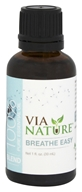 Via Nature - Breathe Easy 100% Pure Essential Oil Blend - 1 oz.