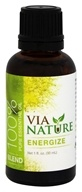 Via Nature - Energize 100% Pure Essential Oil Blend - 1 oz.