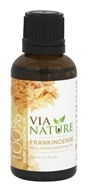 Via Nature - Frankincense 100% Pure Essential Oil - 1 oz.