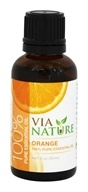 Via Nature - Orange 100% Pure Essential Oil - 1 oz.