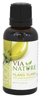 Via Nature - Ylang Ylang 100% Pure Essential Oil - 1 oz.