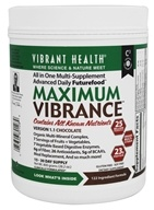 Vibrant Health - Maximum Vibrance Multi-Supplement Version 1.1 Chocolate - 28.2 oz.