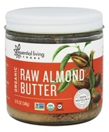 Essential Living Foods - Organic Raw Almond Butter - 12 oz.