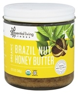 Essential Living Foods - Organic Brazil Nut Honey Butter - 12 oz.