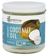 Essential Living Foods - Organic Coconut Oil - 14 oz.