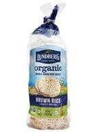 Lundberg - Organic Rice Cakes Brown Rice Lightly Salted - 8.5 oz.