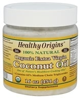 Healthy Origins - Organic Extra Virgin Coconut Oil 100% Natural - 16 oz.