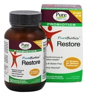 Pure Essence Labs - PureBiotics Restore For Ages 16-39 - 30 Vegetarian Capsules