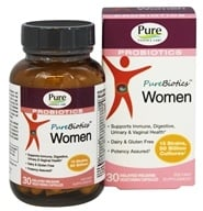 Pure Essence Labs - PureBiotics Women - 30 Vegetarian Capsules