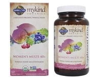 Garden of Life - Kind Organics Women's Multi 40+ Whole Food Multivitamin - 60 Vegetarian Tablets