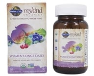 Garden of Life - Kind Organics Women's Once Daily Whole Food Multivitamin - 30 Vegetarian Tablets