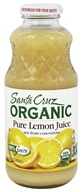 Santa Cruz Organic - Organic Pure Lemon Juice - 16 oz.