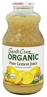 Santa Cruz Organic - Organic Pure Lemon Juice - 32 fl. oz.