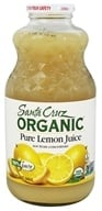 Santa Cruz Organic - Organic Pure Lemon Juice - 32 oz.