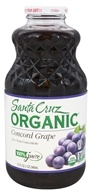 Santa Cruz Organic - Organic Concord Grape Juice - 32 oz.
