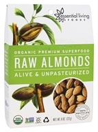 Essential Living Foods - Organic Raw Almonds - 8 oz.
