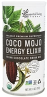 Essential Living Foods - Organic Coco Mojo Energy Elixir Chocolate - 11 oz.