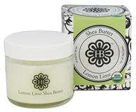 HollyBeth Organics - Shea Butter Lemon Lime - 2 oz.