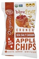 Bare Fruit - 100% Organic Crunchy Apple Chips Sea Salt Caramel - 2.2 oz.