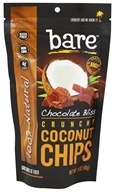 Bare Fruit - 100% Natural Crunchy Coconut Chips Chocolate Bliss - 1.4 oz.