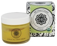 HollyBeth Organics - All Over Cream Citrus - 2 oz.