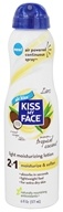 Kiss My Face - Light Moisturizing Spray Lotion Tropical Coconut - 6 oz.