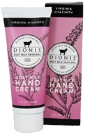 Dionis Goat Milk Skincare - Hand Cream Virginia Hyacinth - 2 oz.