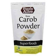 Foods Alive - Raw Peruvian Carob Powder - 8 oz.