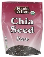 Foods Alive - Organic Raw Chia Seeds - 8 oz.