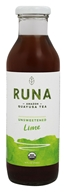 Runa - Amazon Guayusa Tea Unsweetened Lime - 14 oz.