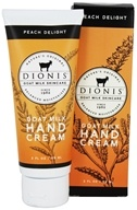 Dionis Goat Milk Skincare - Hand Cream Peach Delight - 2 oz.