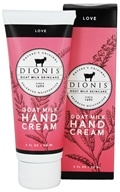 Dionis Goat Milk Skincare - Hand Cream Love - 2 oz.