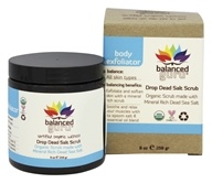 Balanced Guru - Drop Dead Salt Scrub Body Exfoliator - 9 oz.