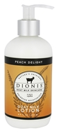 Dionis Goat Milk Skincare - Lotion Peach Delight - 8.5 oz.