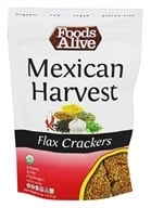 Foods Alive - Flax Crackers Mexican Harvest - 4 oz.